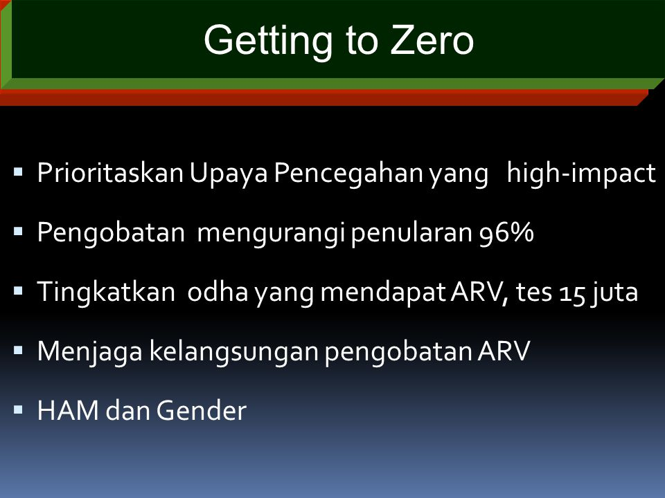 Getting to Zero Terima kasih