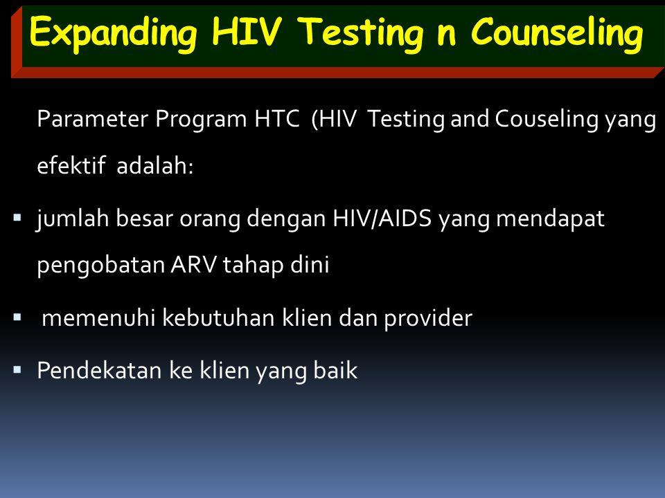Expanding HIV Testing n Counseling