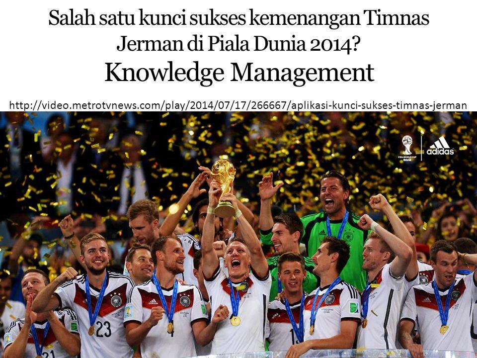 Salah satu kunci sukses kemenangan Timnas Jerman di Piala Dunia 2014