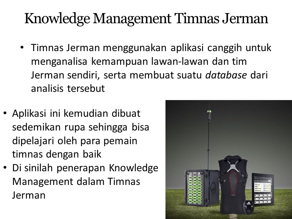 Knowledge Management Timnas Jerman