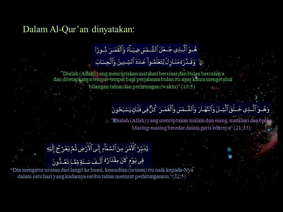 Dalam Al-Qur'an dinyatakan: