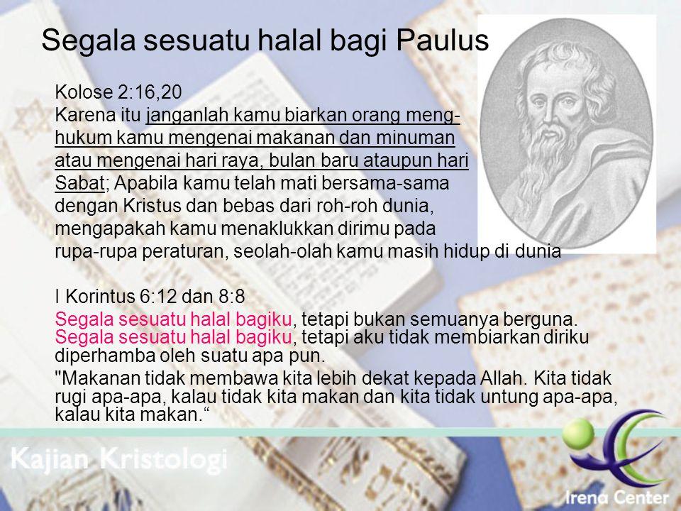 Segala sesuatu halal bagi Paulus