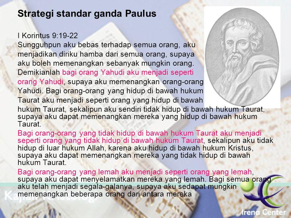 Strategi standar ganda Paulus