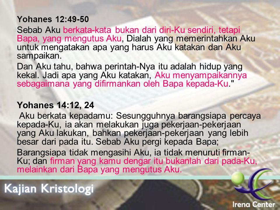 Yohanes 12:49-50