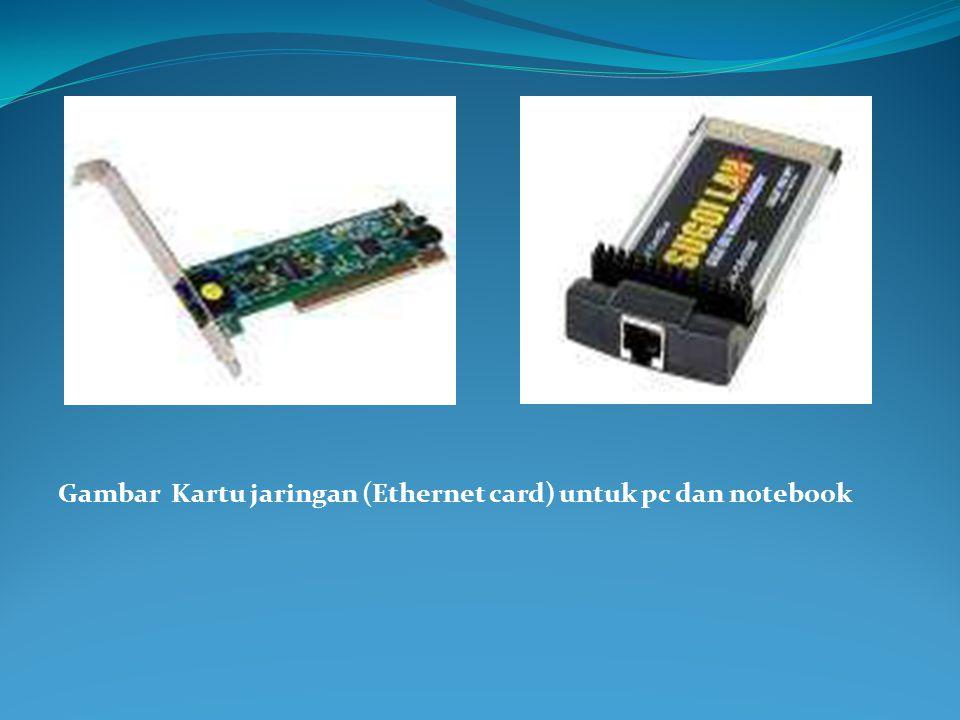 Gambar Kartu jaringan (Ethernet card) untuk pc dan notebook