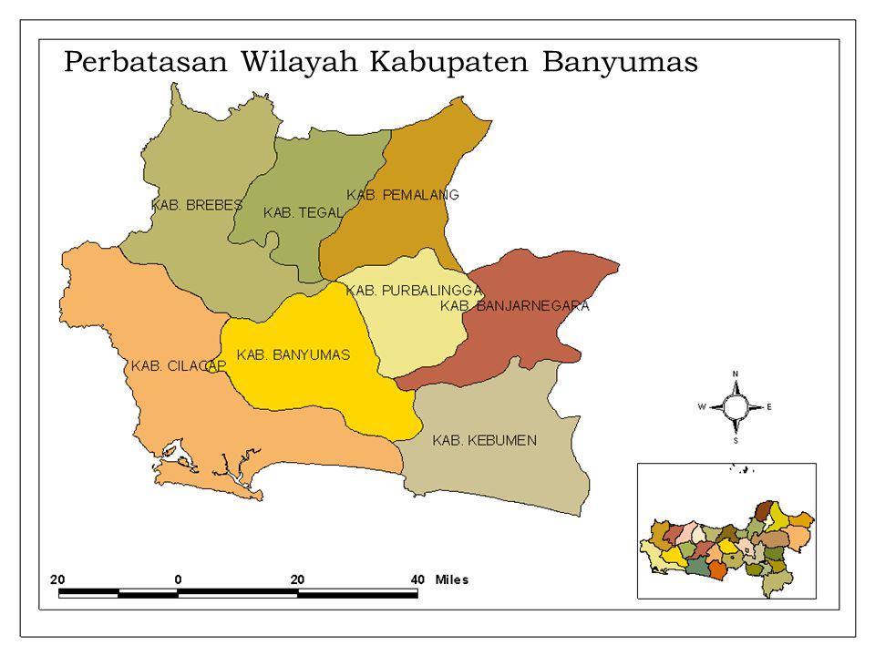 Perbatasan Wilayah Kabupaten Banyumas