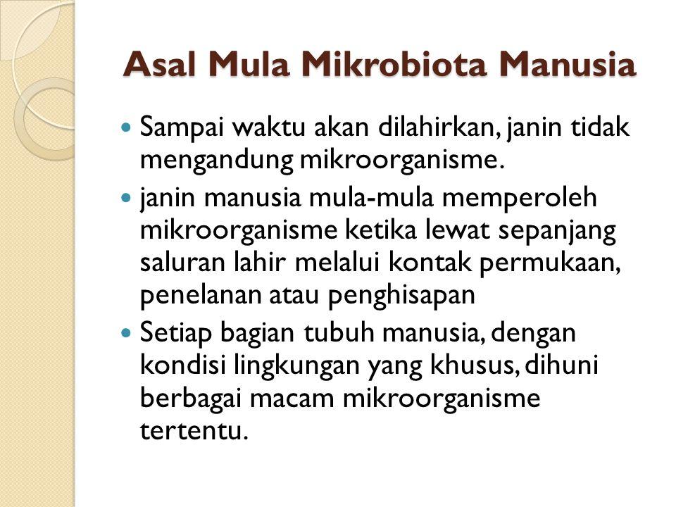 Asal Mula Mikrobiota Manusia