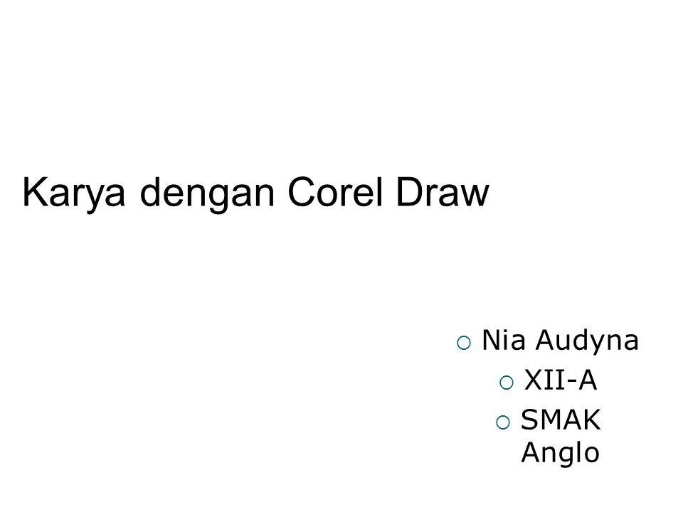Karya dengan Corel Draw