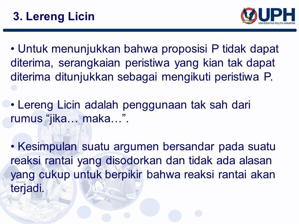 3. Lereng Licin