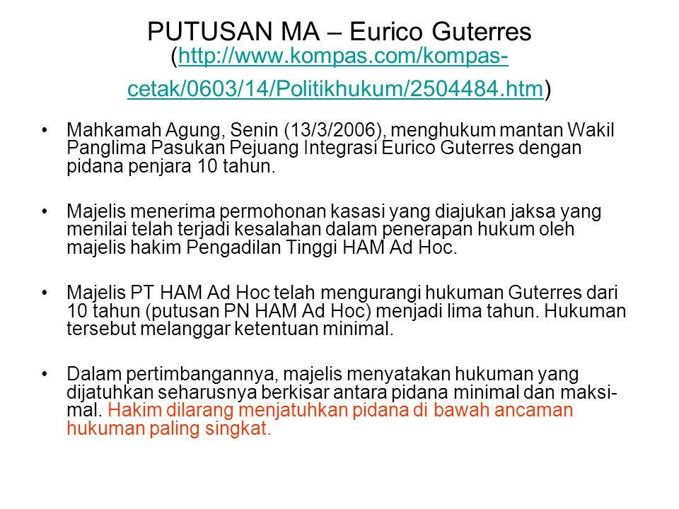 PUTUSAN MA – Eurico Guterres (http://www. kompas