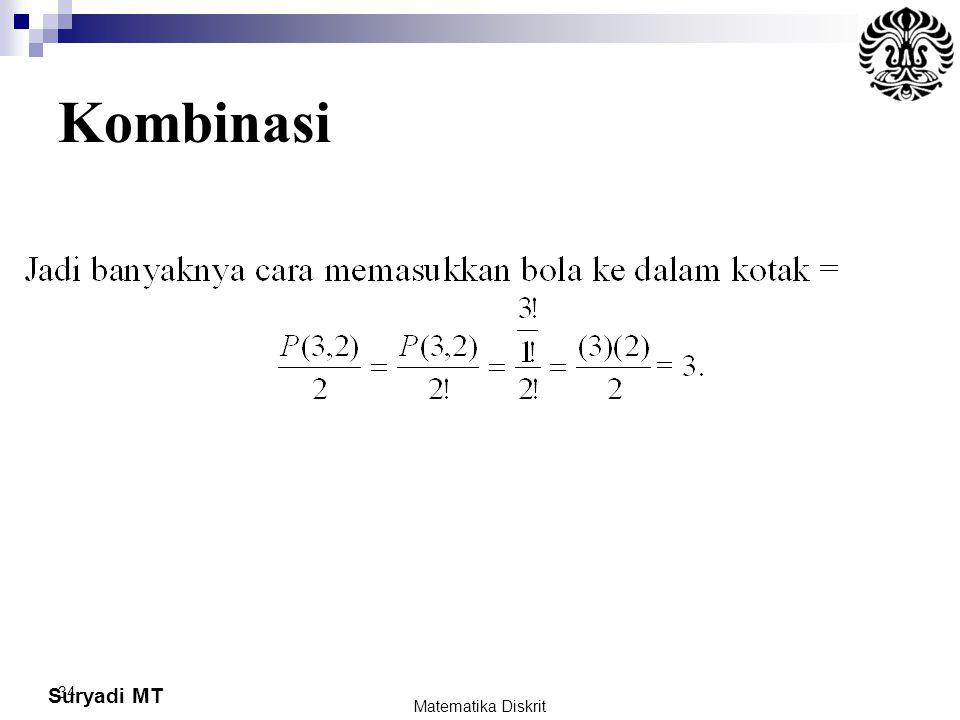 Kombinasi Matematika Diskrit