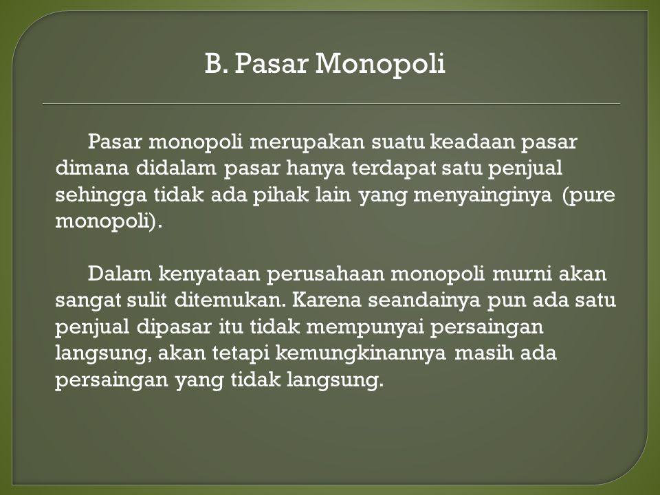 B. Pasar Monopoli