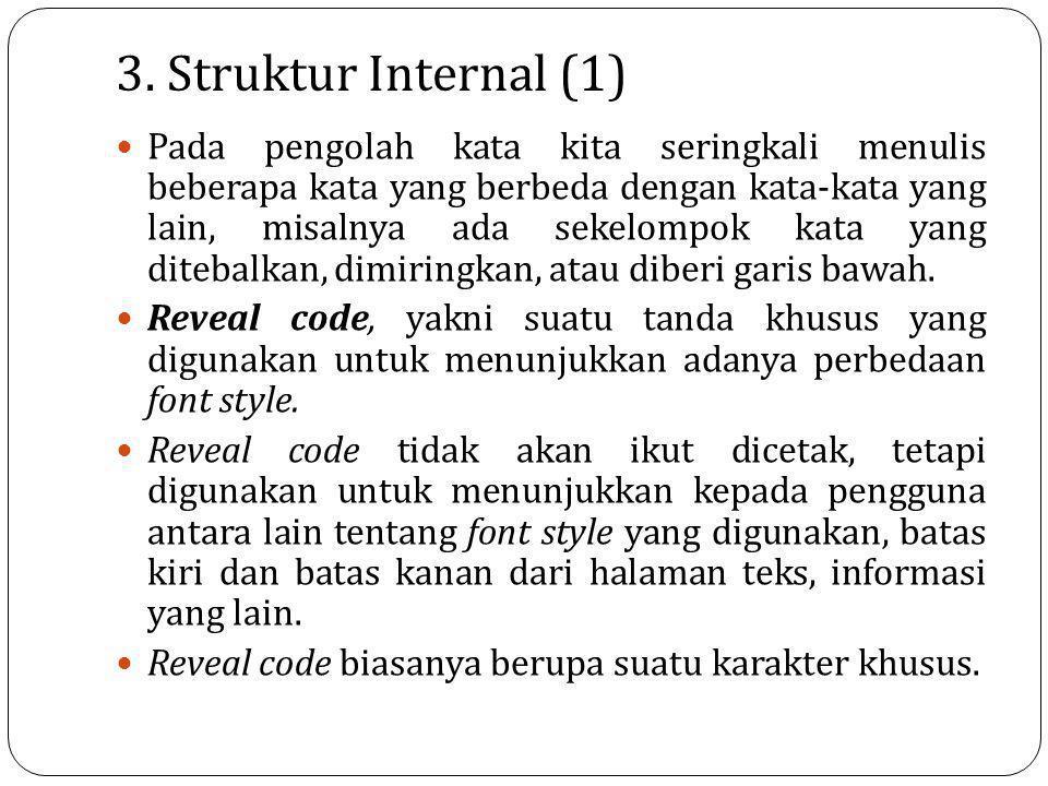 3. Struktur Internal (1)
