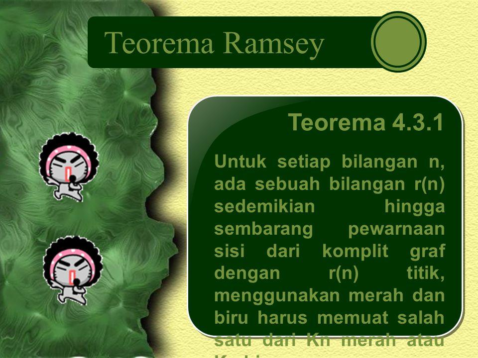 Teorema Ramsey Teorema 4.3.1