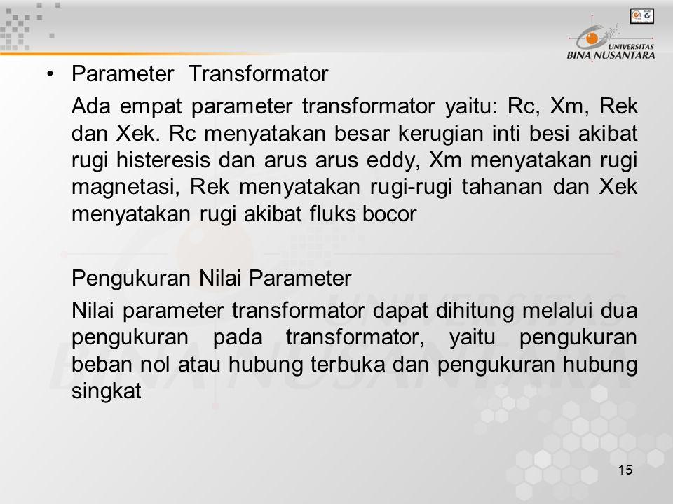 Parameter Transformator