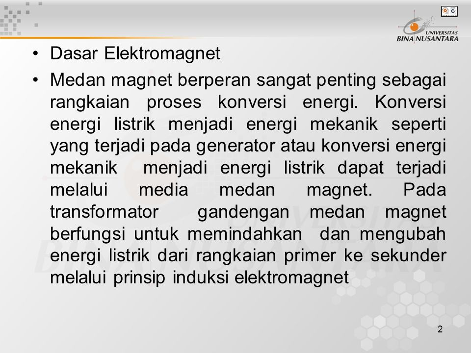 Dasar Elektromagnet