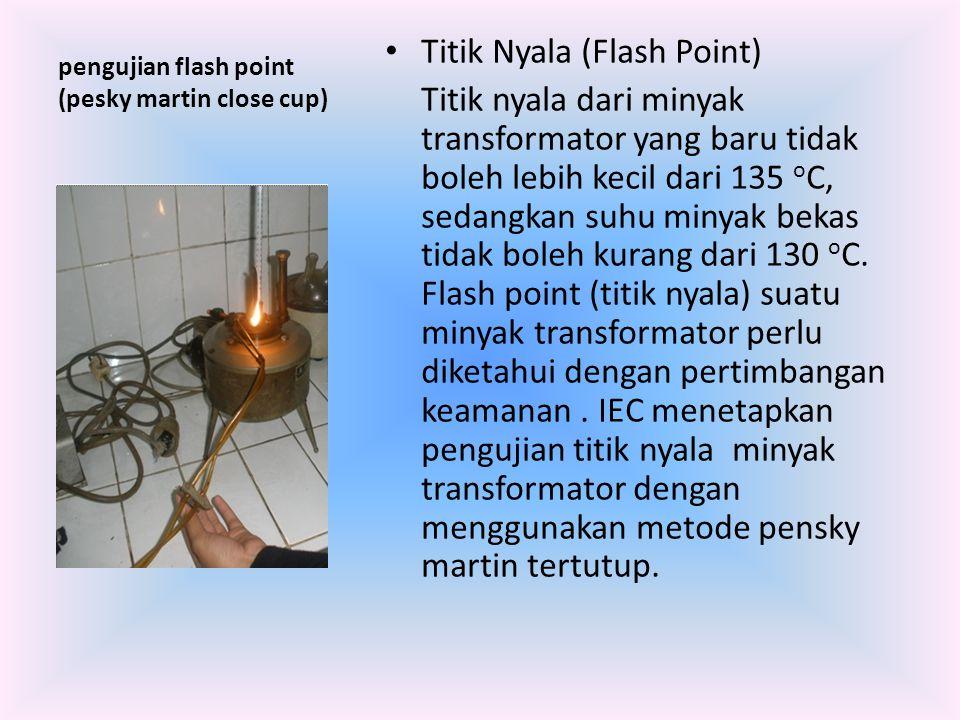 pengujian flash point (pesky martin close cup)
