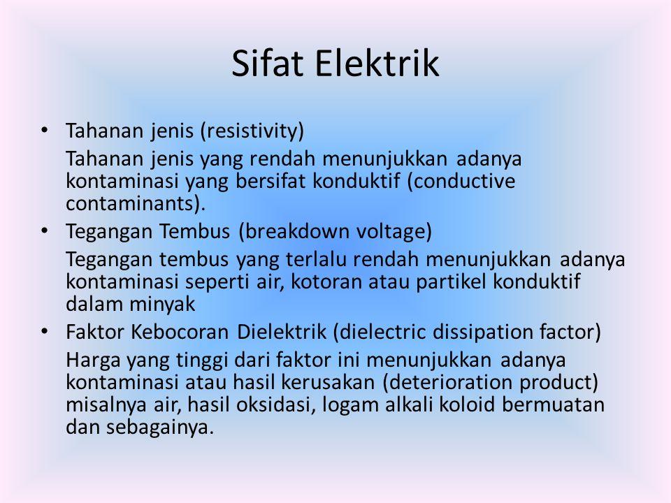 Sifat Elektrik Tahanan jenis (resistivity)