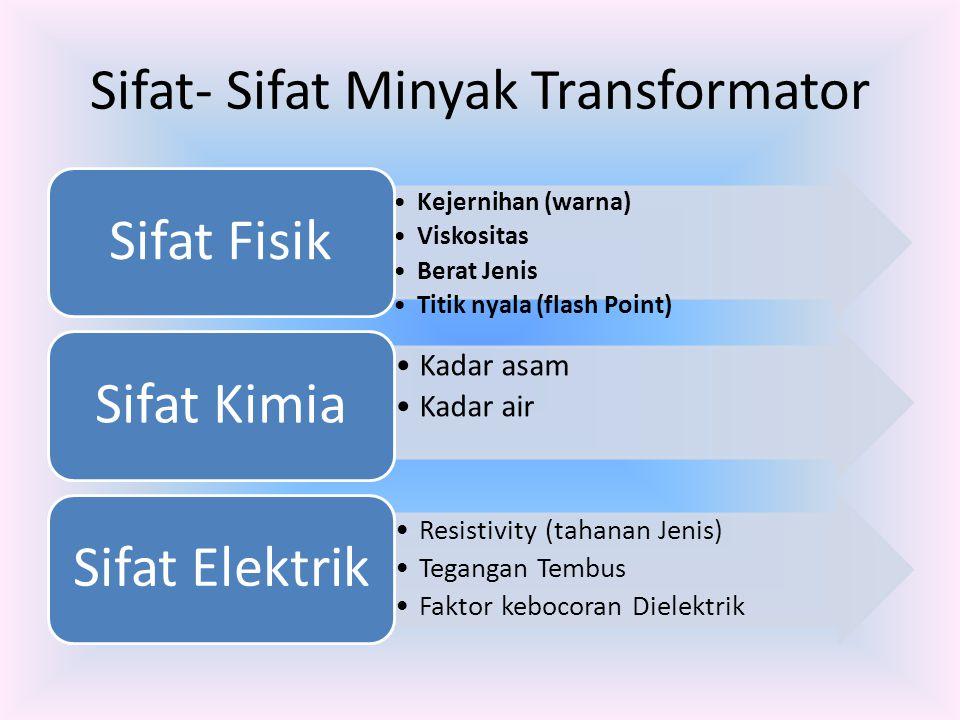 Sifat- Sifat Minyak Transformator