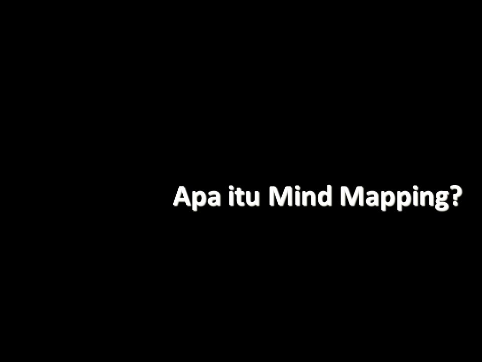 Apa itu Mind Mapping