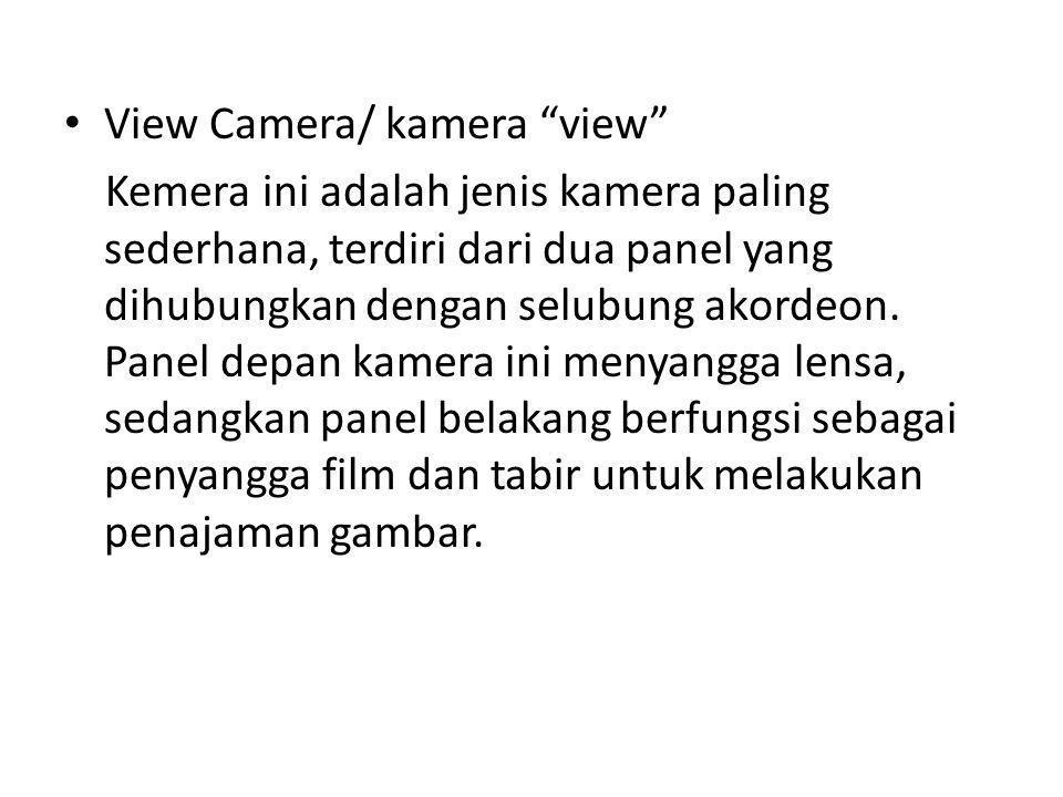 View Camera/ kamera view