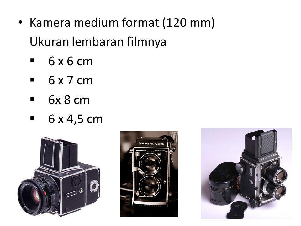 Kamera medium format (120 mm)