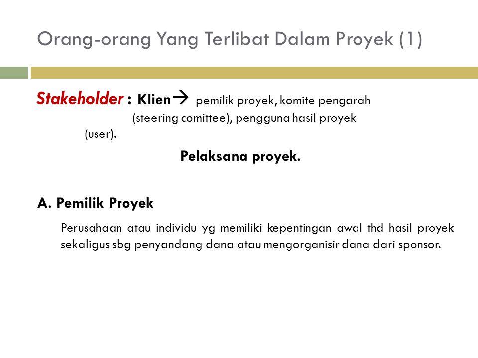 Orang-orang Yang Terlibat Dalam Proyek (1)
