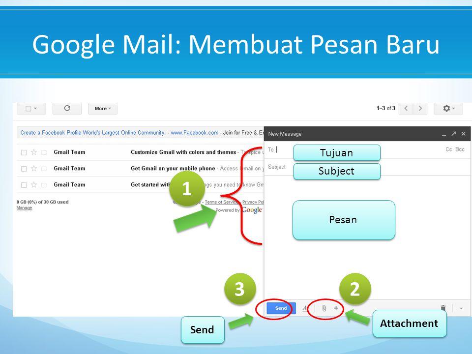 Google Mail: Membuat Pesan Baru