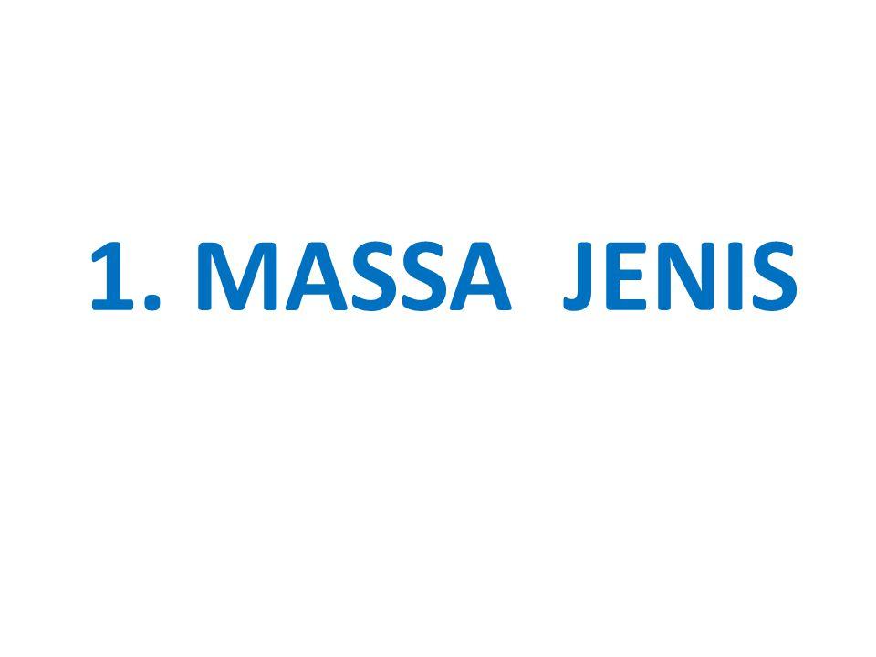 1. MASSA JENIS