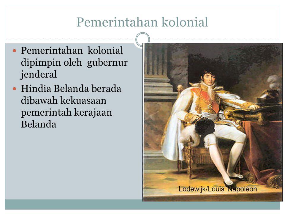 Pemerintahan kolonial