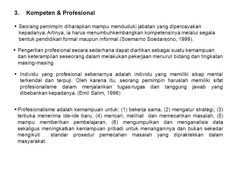 Kompeten & Profesional
