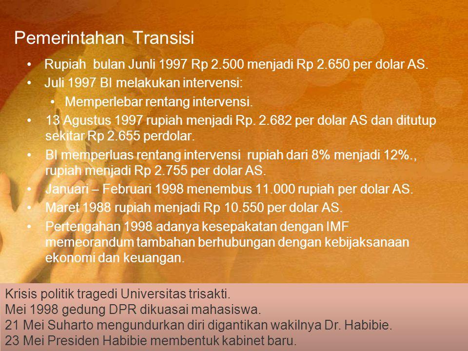 Pemerintahan Transisi