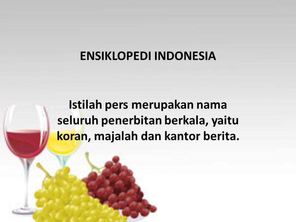 ENSIKLOPEDI INDONESIA