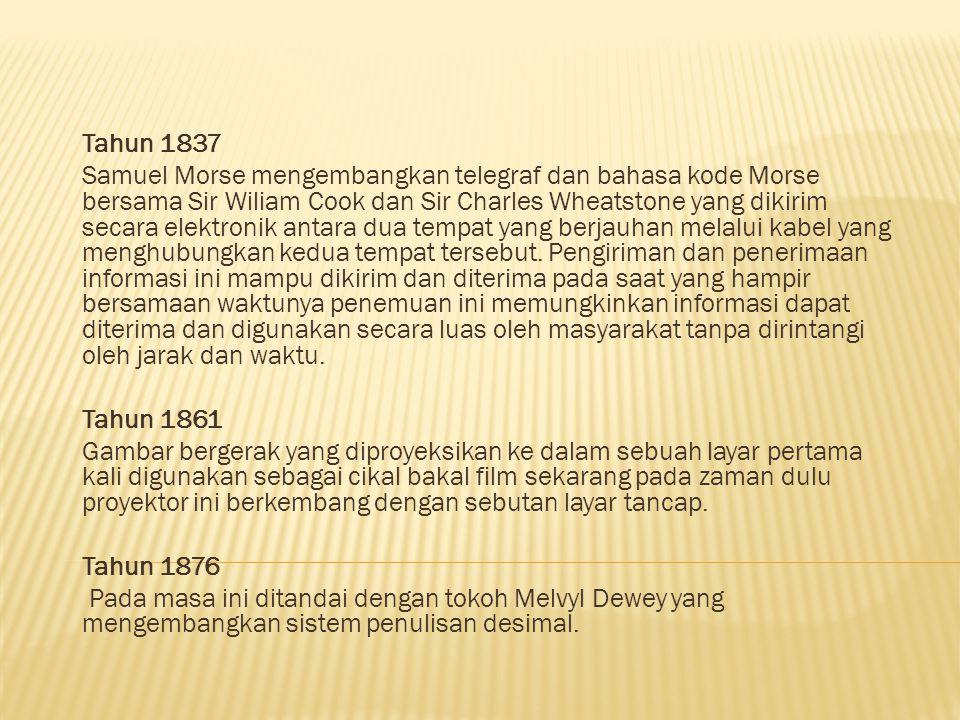 Tahun 1837