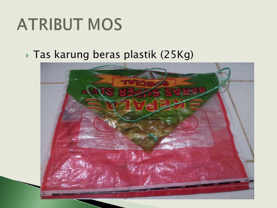 ATRIBUT MOS Tas karung beras plastik (25Kg)
