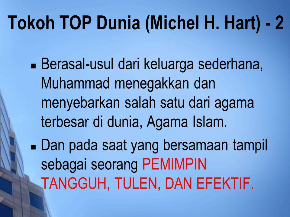 Tokoh TOP Dunia (Michel H. Hart) - 2