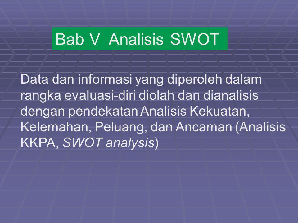 Bab V Analisis SWOT