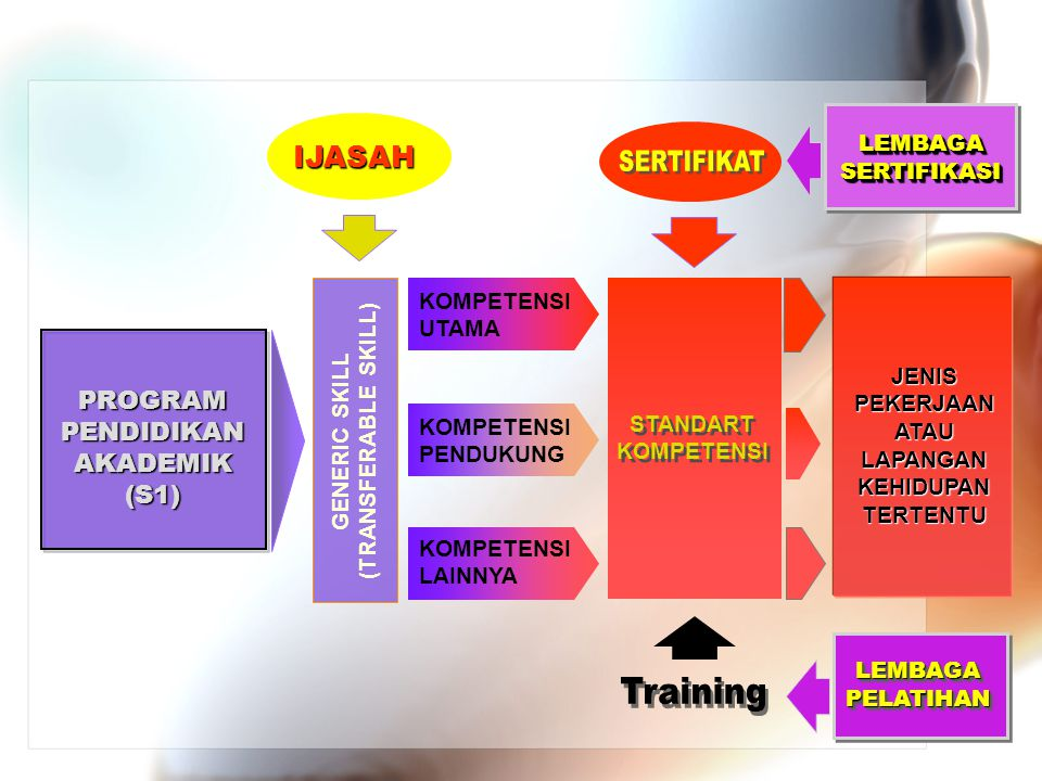 SERTIFIKAT Training IJASAH PROGRAM PENDIDIKAN AKADEMIK (S1)