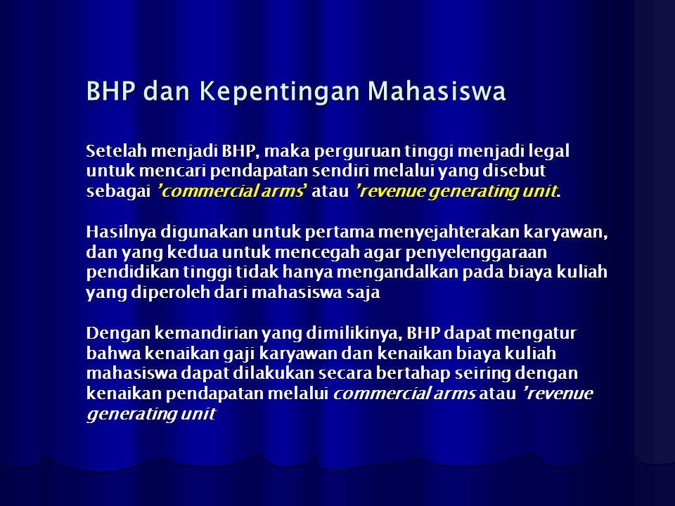 BHP dan Kepentingan Mahasiswa