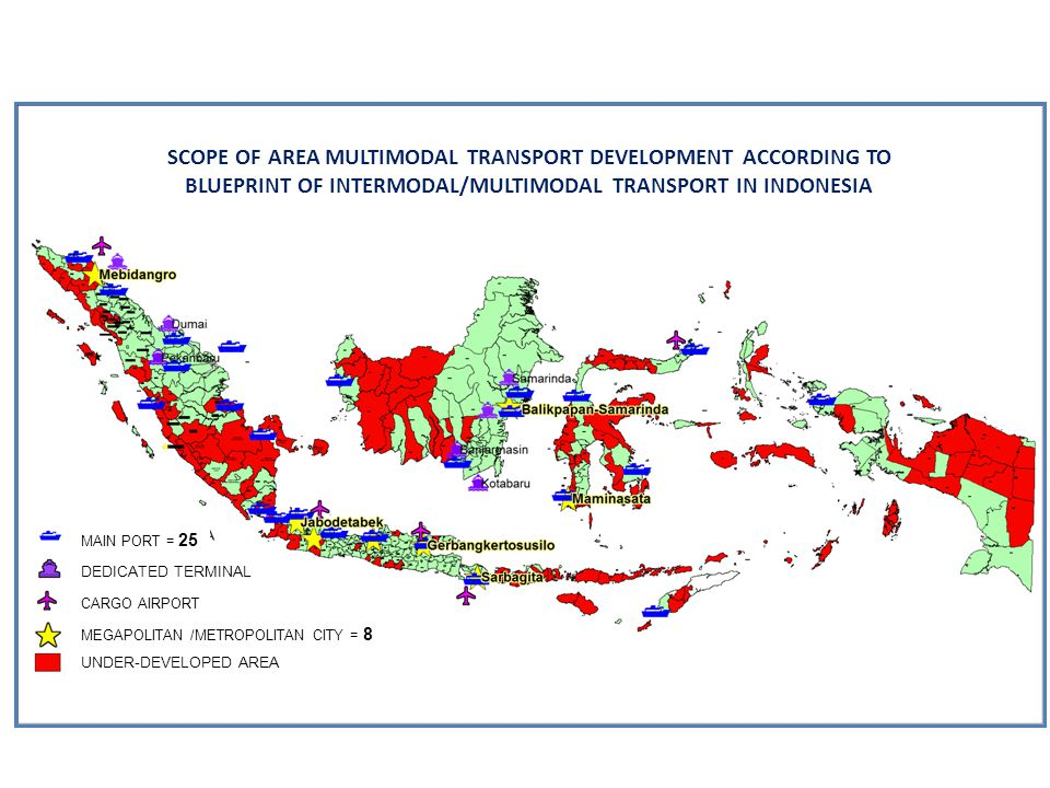 SCOPE OF AREA MULTIMODAL TRANSPORT DEVELOPMENT ACCORDING TO