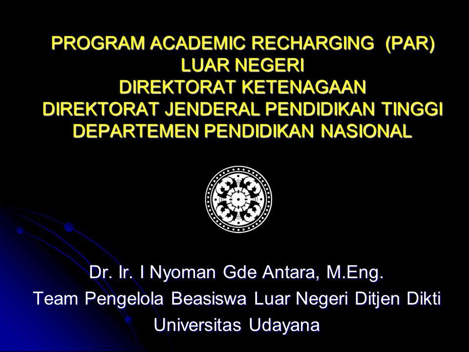 Dr. Ir. I Nyoman Gde Antara, M.Eng.