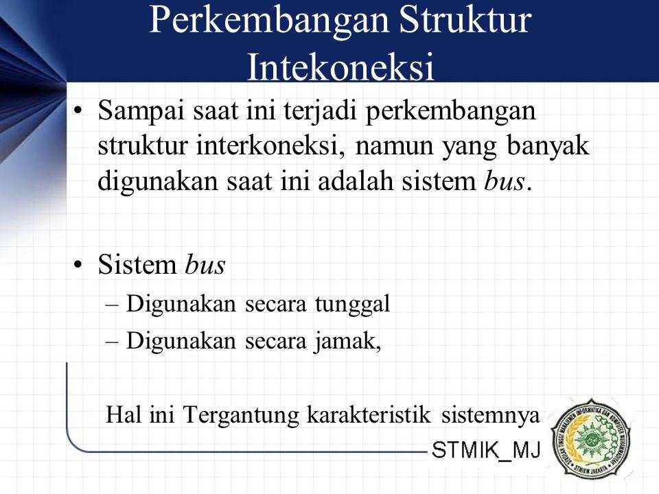 Perkembangan Struktur Intekoneksi