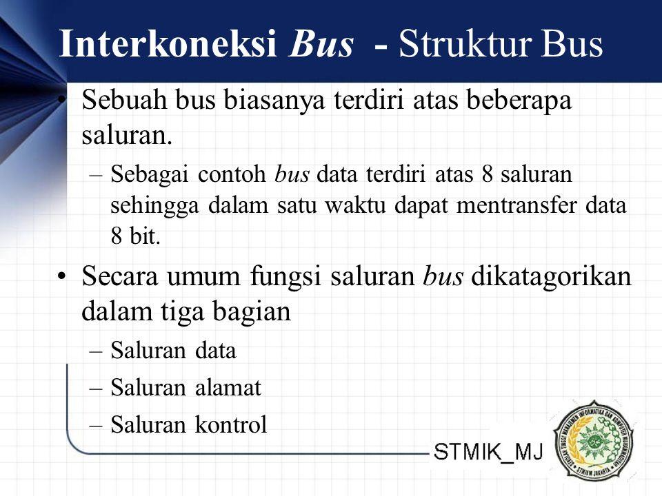 Interkoneksi Bus - Struktur Bus
