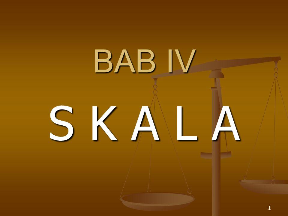 BAB IV S K A L A