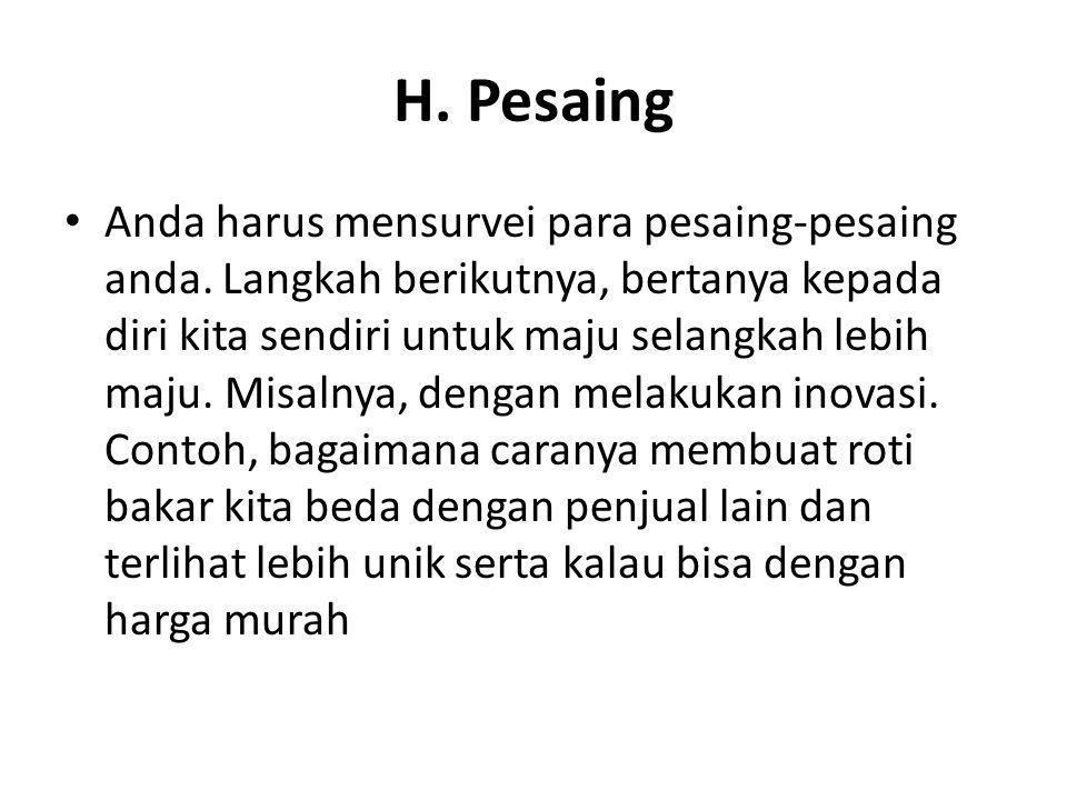 H. Pesaing