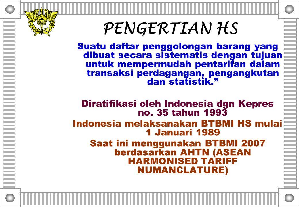 PENGERTIAN HS