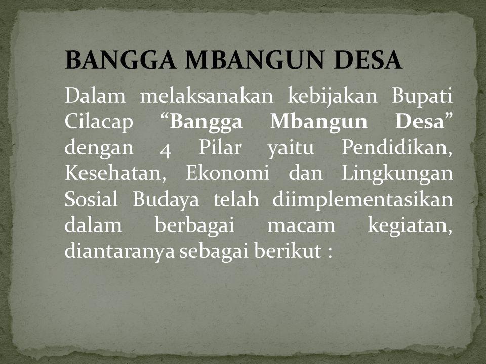 BANGGA MBANGUN DESA