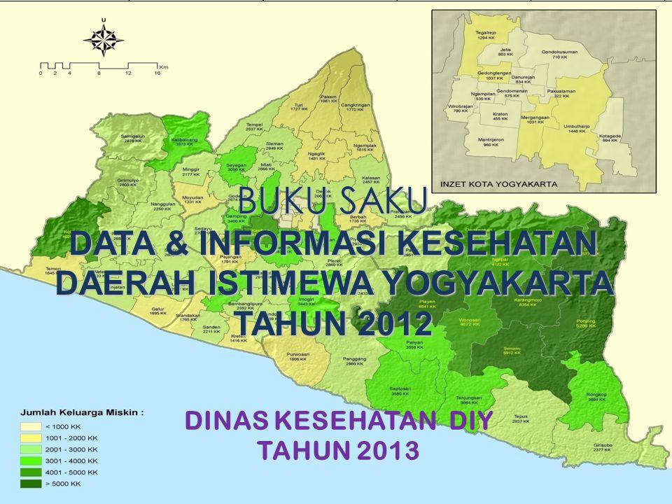 DATA & INFORMASI KESEHATAN DAERAH ISTIMEWA YOGYAKARTA