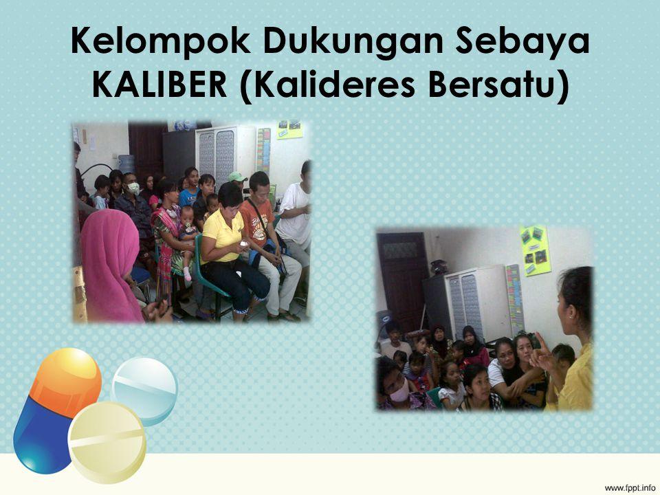 Kelompok Dukungan Sebaya KALIBER (Kalideres Bersatu)