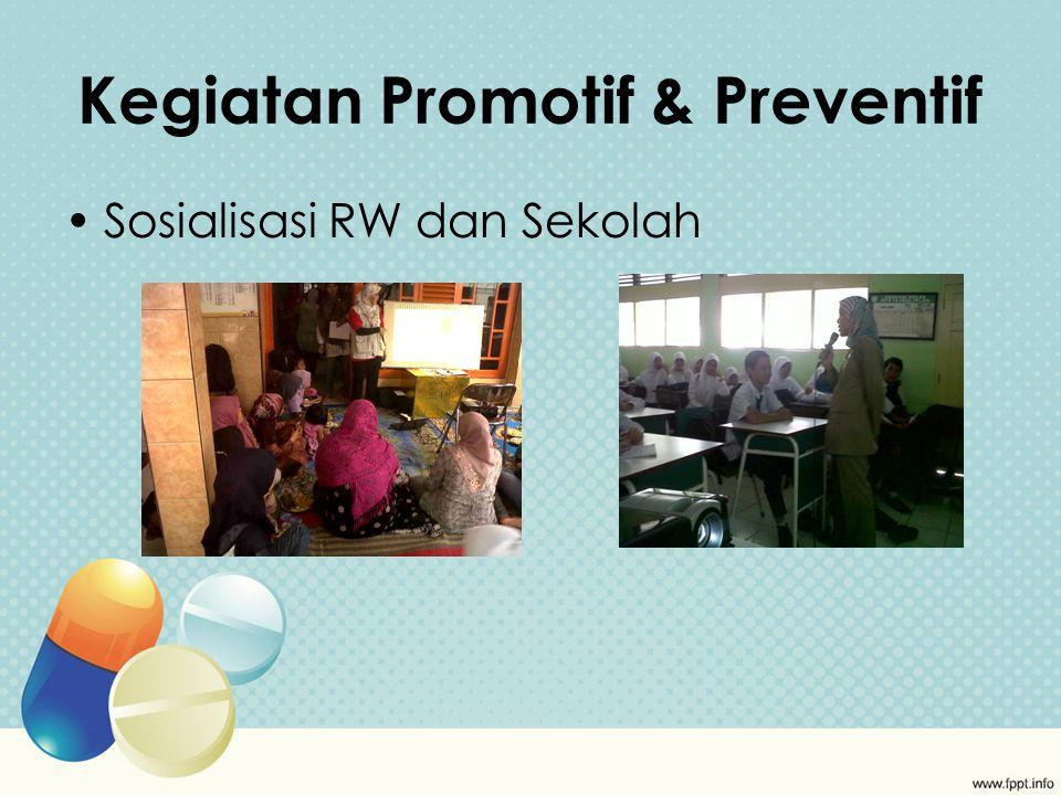 Kegiatan Promotif & Preventif